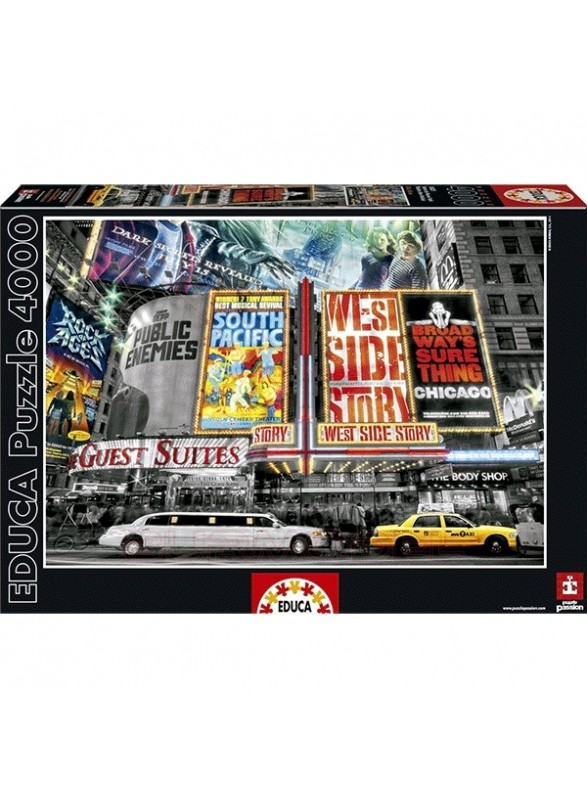 Puzzle 4000 piezas Teatro de Nueva York
