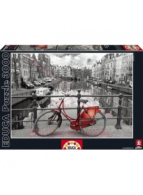Puzzle 3000 piezas Amsterdam