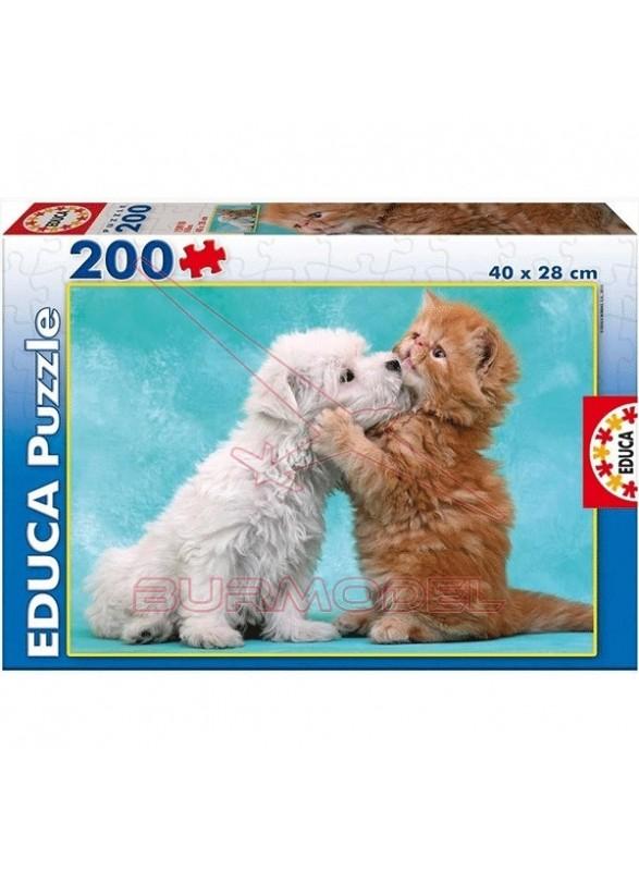 Puzzle 200 piezas Besos y abrazos