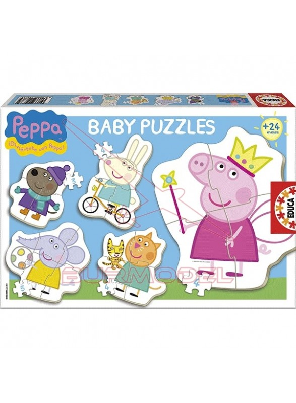 Puzzles infantiles Peppa Pig