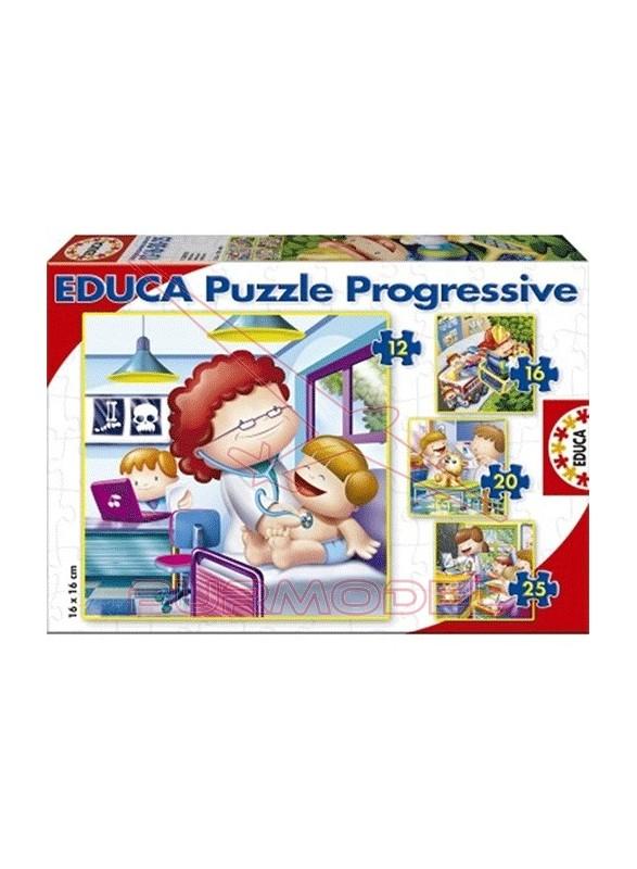 Puzzles infantiles de mayor quiero ser 12, 16, 20