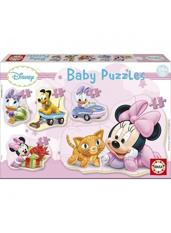 Puzzles infantiles Minnie