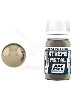 Xtreme Metal latón pálido