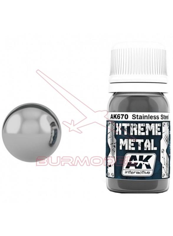 Xtreme Metal acero inoxidable