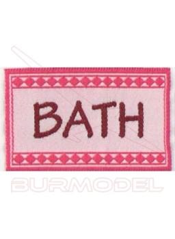 Alfombra de baño en miniatura