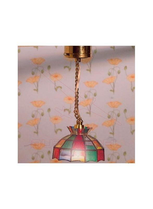 Lámpara Tiffany de led para techo