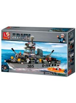 Kit de montaje infantil Barco destructor