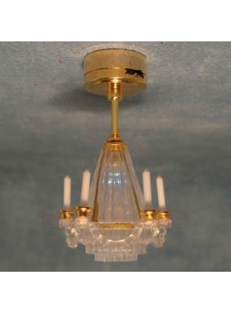 Lámpara de techo con leds 1:12