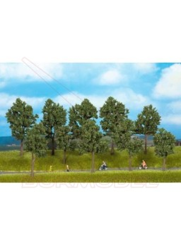 Árboles en verano de 10 a 14cm (10 unds)