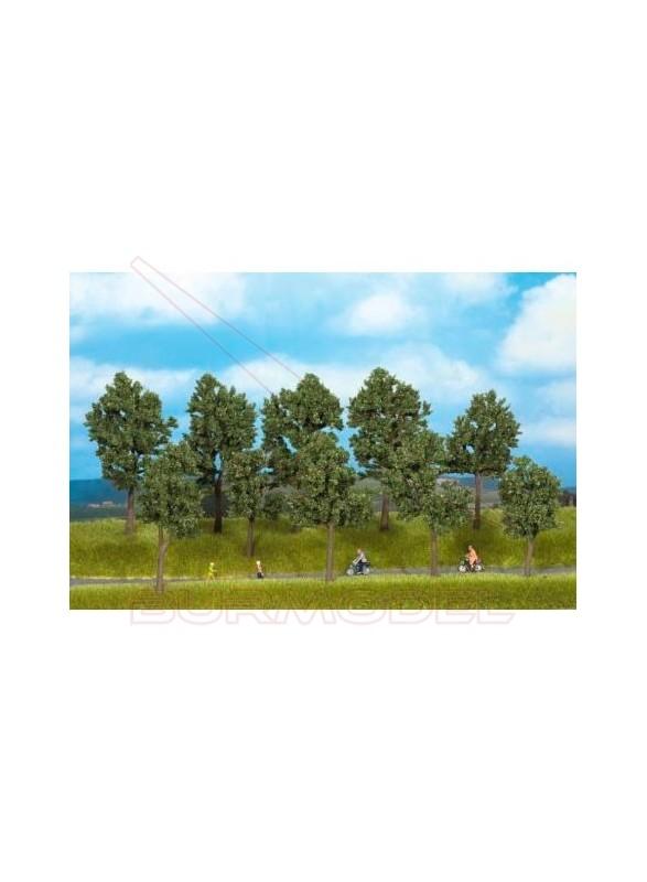 Árboles en verano de 10 a 14cm (5uds)