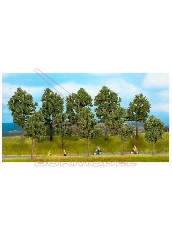 Árboles en verano de 10 a 14cm (10uds)