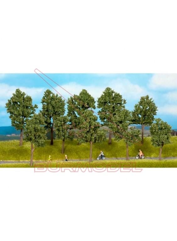Árboles en verano de 10 a 14cm (5 uds)