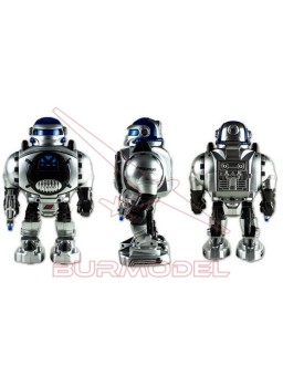 Robot Maximus dispara discos