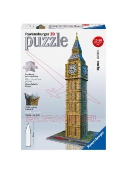 Big Ben para construir en 3D