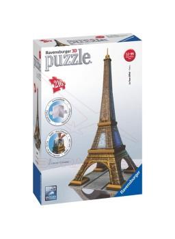 Puzzle 3D Ravensburger para montar la Tour Eiffel