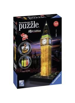 Big Ben Night Edition. Puzzle 3D Ravensburger