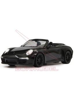 Porsche 911 Carrera S. Coche R/C escala 1:12 negro