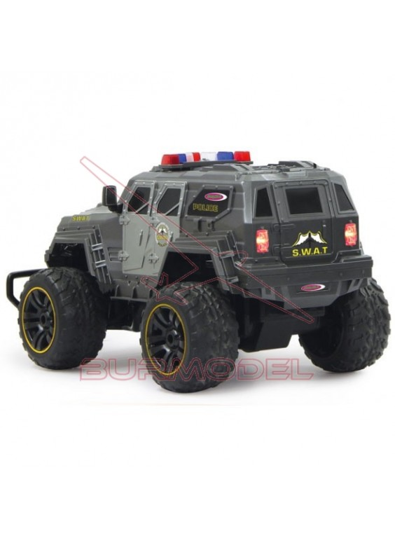 Monster RC SWAT con luces