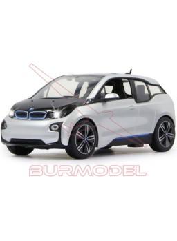Turismo radio control BMW I3 1/14 plata