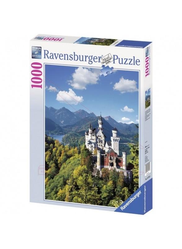 Puzzle 1000 piezas Neuschwanstein en otoño