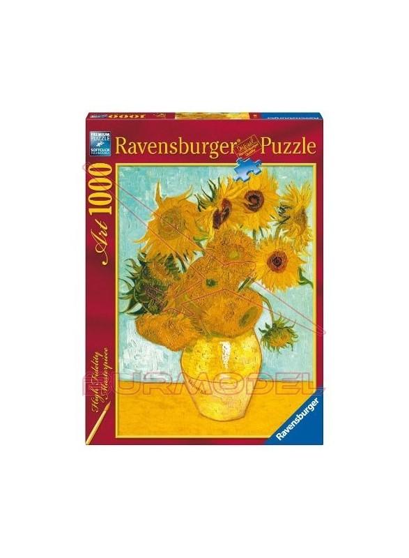 Puzzle 1000 piezas Los Girasoles de Van Gogh