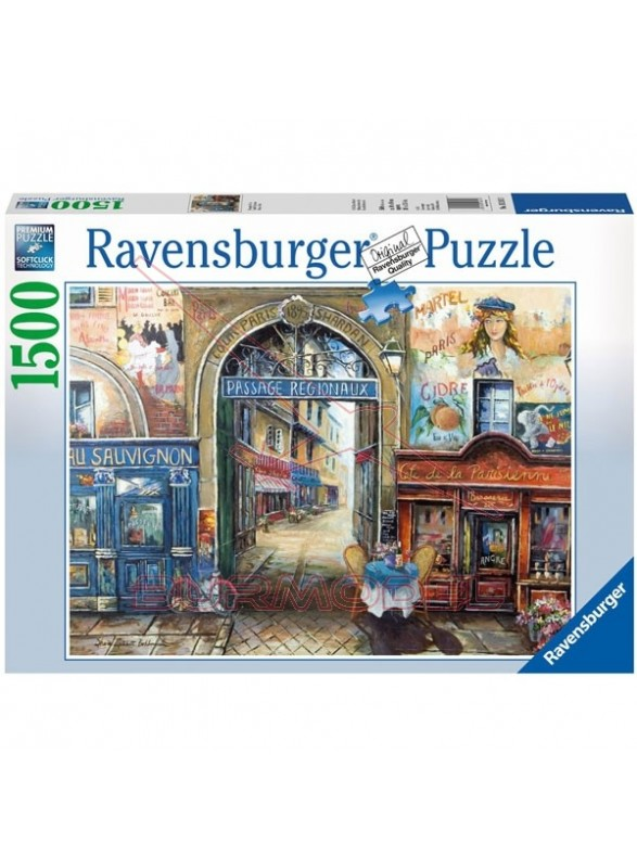 Passage to Paris. Puzzle Ravensburger 1500 piezas