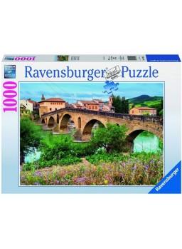 Puzzle 1000 piezas Puente la Reina, España