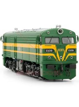 Locomotora diesel 2109 RENFE . Ep III