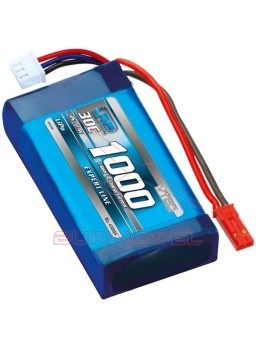 Batería Lipo 7,4v 1000mAh