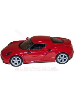 Maqueta montada Alfa Romeo 4C 1:24