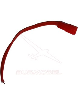 Conector Bec hembra con cable 0.34mm2 Verge