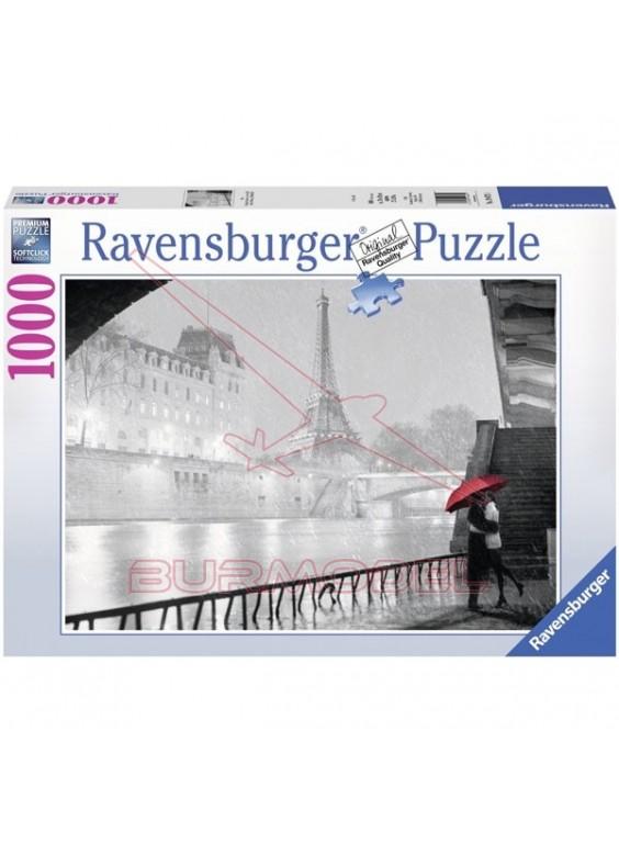 Puzzle Paris en blanco y negro 1000 piezas