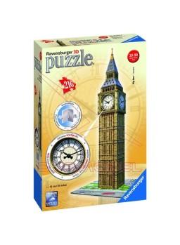 Puzzle 3D Big Ben Londres con reloj de verdad