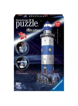 Puzzle 3D Faro con Luz LED