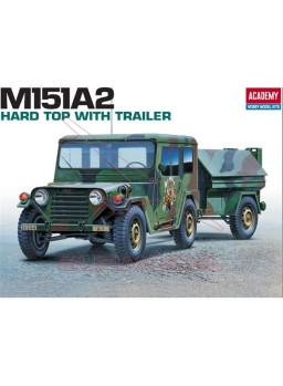 M-151A2 Hard Tof W/Trailer 1:35