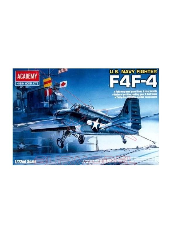 Maqueta avión F4F 4 WILDCAT (1650) 1:72