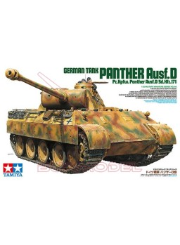 Tanque Alemán Panther Ausf.D (SD.KFZ.171) 1:35
