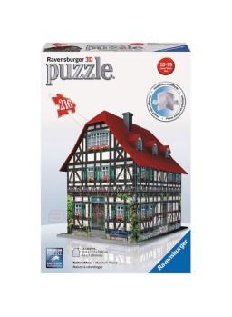 Puzzle 3D Casa Medieval