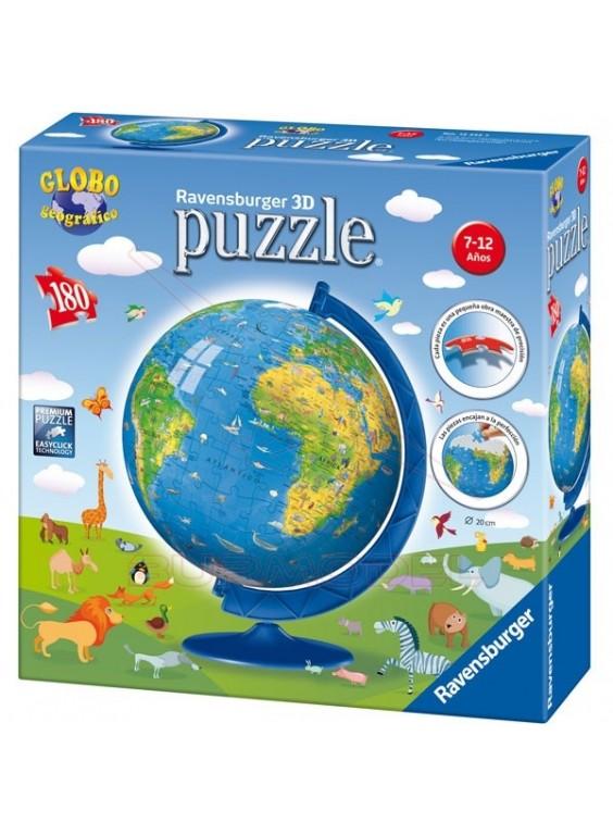Puzzle infantil bola del mundo