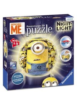 Puzzle lámpara con luz Minions