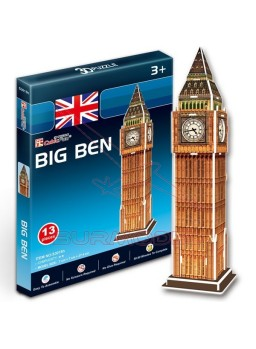 Maqueta 3 dimensiones para montar el Big Ben