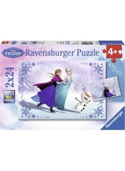Puzzle Frozen: Hermanas para siempre 2x24