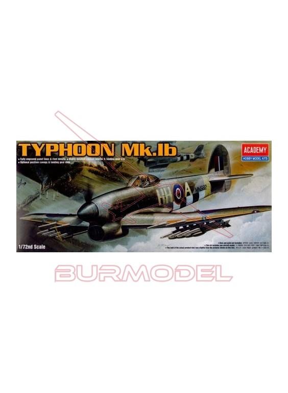 Maqueta avión Hawker Typhoon Mk. IB 1/72