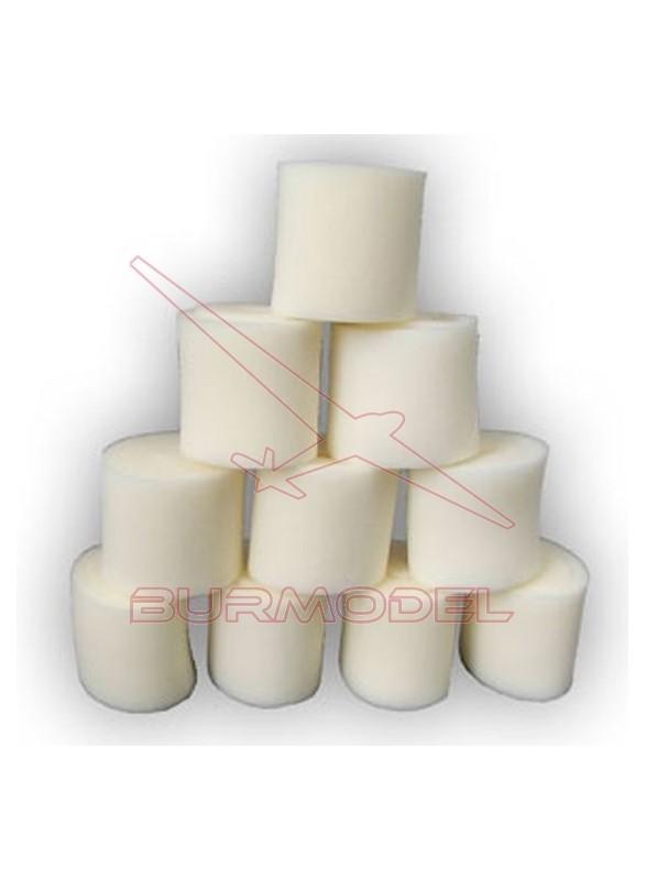 Espumas filtro aire para MBX6 (10uds)