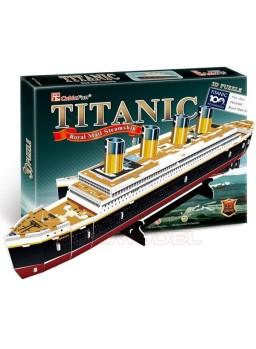 Construcción 3D Titanic. 35 piezas