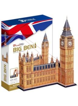 Construcción Big Ben para montar en 3D