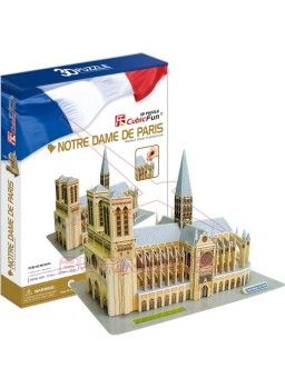 Notre Dame para montar en 3D