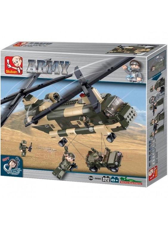Kit infantil para montar Helicóptero Chinook