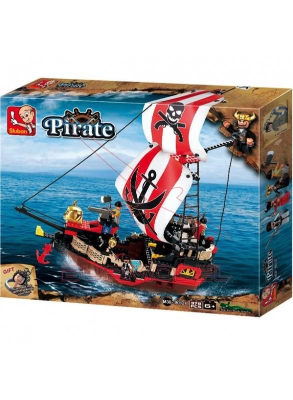 Maqueta de plástico barco pirata XXL Sluban