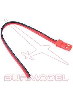 Conector BEC macho con cable
